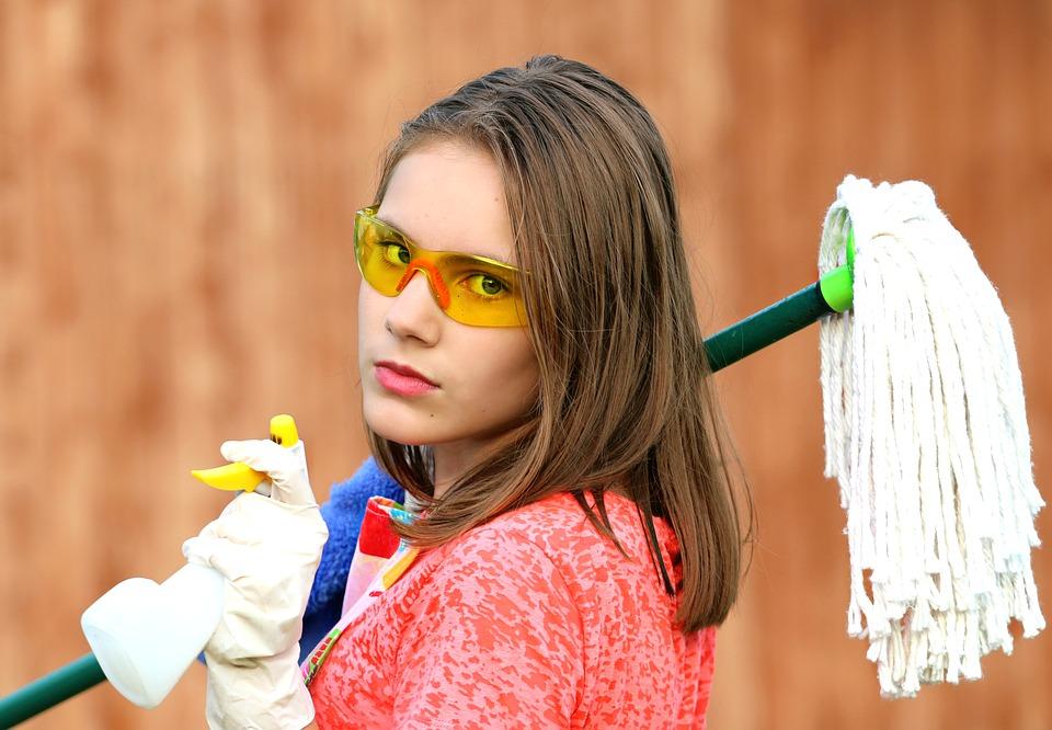 Med de rette redskaber er det nemt at gøre rent